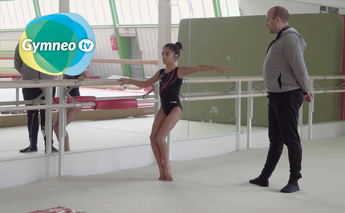 Gymnastics drills - Gymneo, choreography foot work