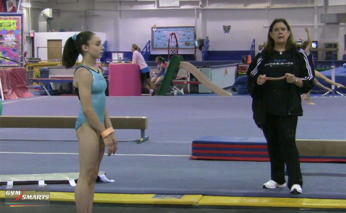 Gymnastics drills - Biggs, bands