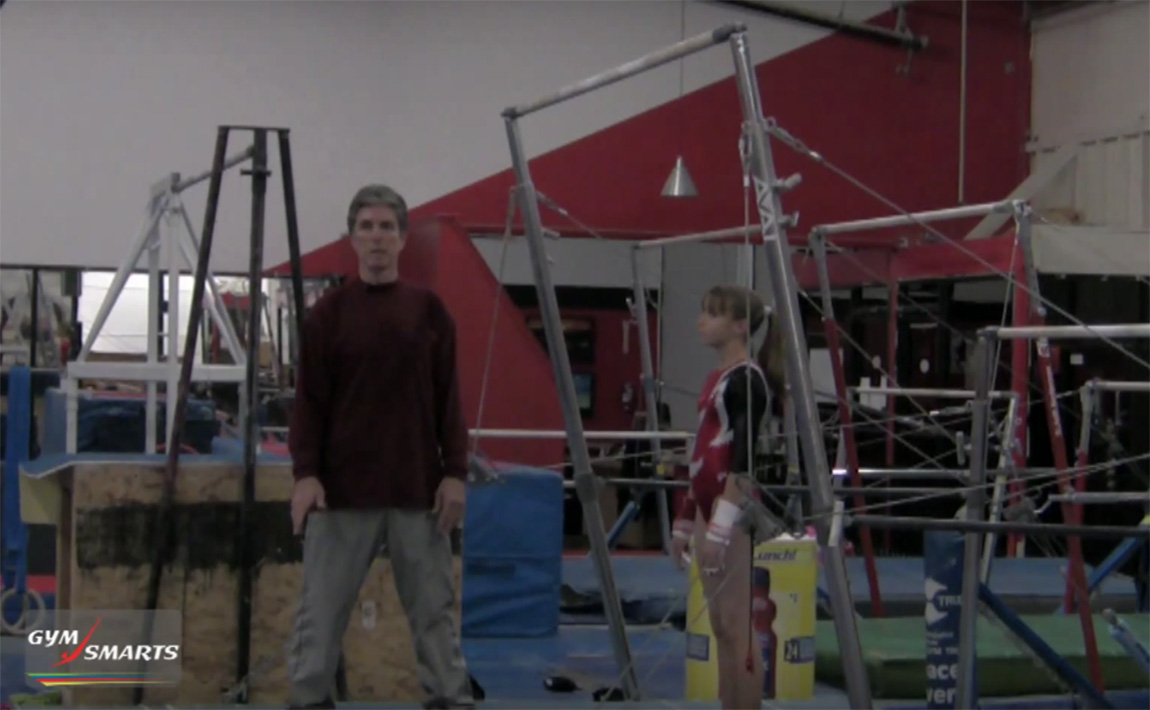 Gymnastics drills - Connelly, swing for giants