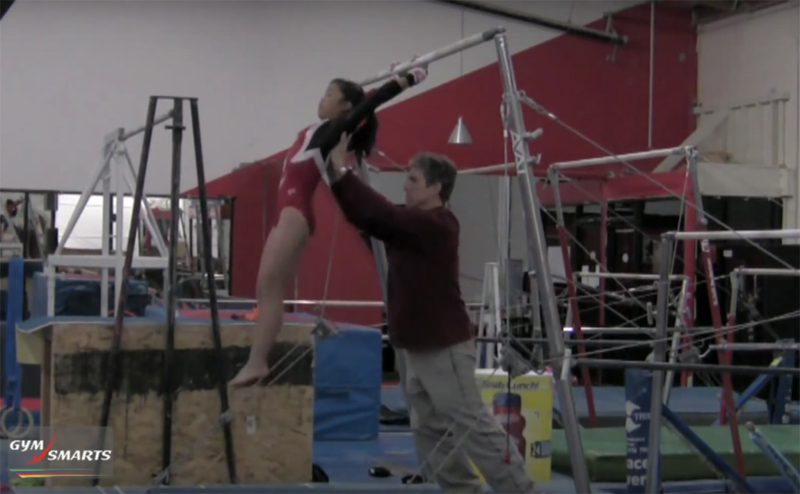 Gymnastics drills - Connelly, tap swing